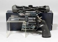 Smith & Wesson Model 581 Revolver,.357 Magnum, SN# AAP5295, With Leupold M8-4X Extended E.R. Scope, Modified Trigger, Pachmayr Presentation Grips