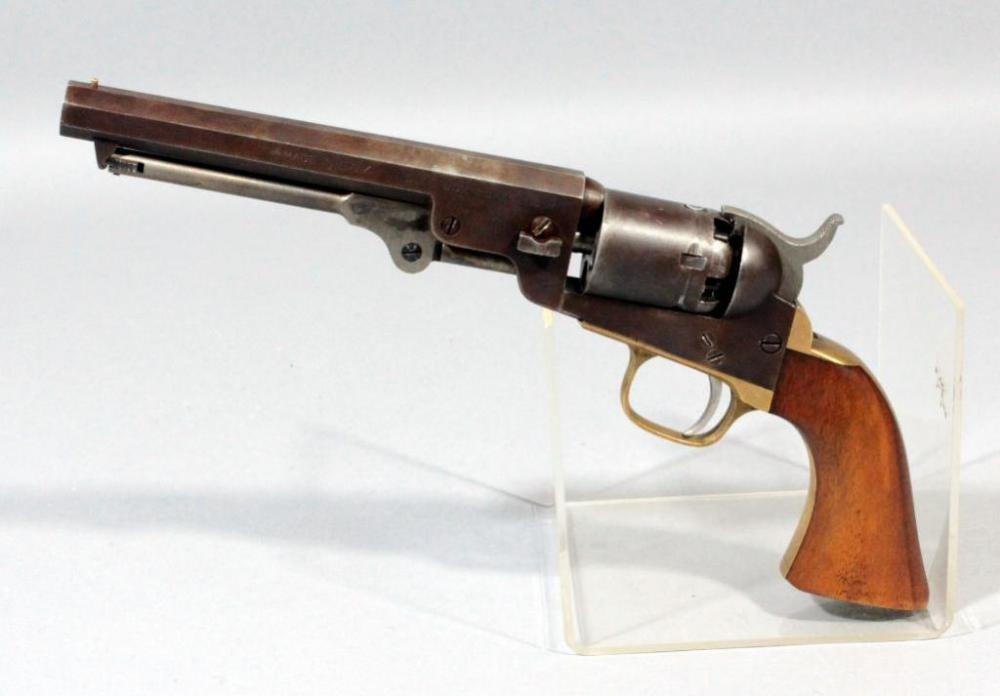 Dixie Gun Works Black Powder Revolver,  34 Cal, SN# 726 Made in Italy
