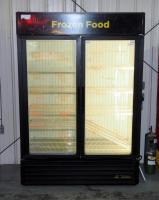 "True Standup Freezer Case Model JDM-49F, Powers On But Not Cooling, 78"" x 54"" x 30"". Bidder Responsible for Proper Removal."