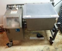 Daniels Commercial Stainless Steel Electric Mixer Model DMX 100, 100 Lbs. Capacity, Needs Repair