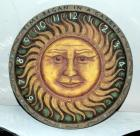 "Grasslands Road Sundial with Sun Face, 14"" Dia., Needs Gnomon"