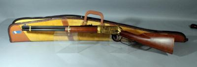Winchester Model 94 30-30 WIN Lever Action Rifle SN# GS64390. Golden Spike Railroad Commemorative. Gold Trim & Scroll