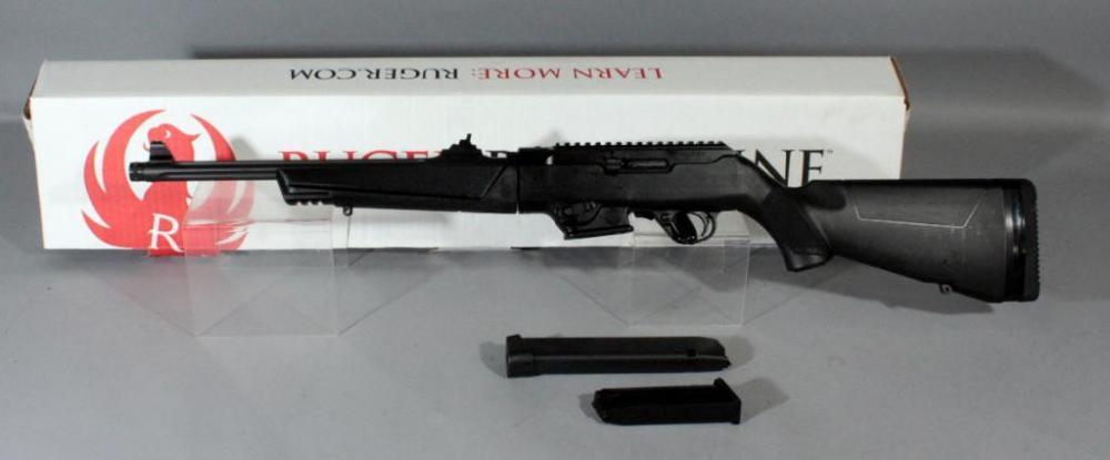 Ruger Model 19100 PC Carbine 9mm Luger Rifle SN# 910-07367