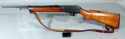 Winchester Repeating Arms Model 07SL .351 WIN Rifle SN# 48807 With Extra Mag And Leather Sling