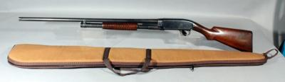 Winchester Model 12 12Ga. Pump Action Shotgun SN# 613969 With Soft Case