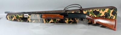 Remington Wingmaster Model 870 20 Ga. Pump Action Shotgun SN# S231965X With Paperwork And Soft Case, Small Cracks In Forearm