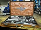 Campagnolo Cycling Mechanics Tool Kit With Wood Carrying Case & Vintage Inventory Poster