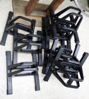 Molded Plastic Bicycle Stands, Qty 10