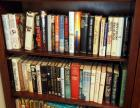 Hardback Book Assortment Including Patterson, Sarton, Harold Robins, And More, Contents Of 2 Shelves