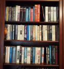Hardback Book Assortment Including Thomas Thompson, Herman Wouk, Dan Brown, And More. Contents Of 3 Shelves