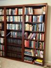 "Solid Wood Book Cases With 6 Adjustable Shelves 83"" H x 31.5"" W x 13.5"" D, Qty 2 Contents Not Included, Second Day Loadout Only"