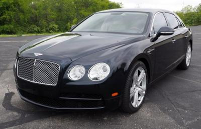 2015 Bentley Flying Spur Luxury Sedan, V8, 4.0L, 500hp, Twin Turbo, AWD, Privacy Screens, Navigation, Odometer Reads 7,335, VIN # SCBET9ZA9FC042030