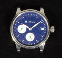 "Niall GMT Four Horsemen 40mm Limited Edition ""Notre Dame"" Timepiece / Watch, Eterna 3914a Movement With 65 Hour Power Reserve"