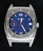 "Niall One.3 5280 One.3 ""5280-Denver"" Colorway As Worn by John Elway, All Stainless Steel Watch With 65 Hour Power Reserve Eterna 3903a Movement, Not W"