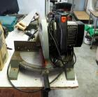 "Delta 10"" Motorized Miter Saw, Model #34-080"
