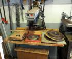 Black And Decker Power Shop Radial Arm Saw, Model #R1350 Includes Rolling Cart It Sits On
