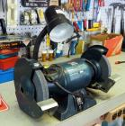 "Black And Decker 6"" Electric Bench Grinder, Model #9709, Bidder Responsible For Proper Removal, Mounted To Cabinet"