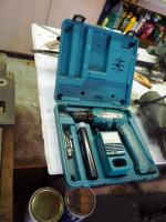 Makita Cordless Drill Model #6095D Includes Extra Battery, Chargers, Drill Bits And Carrying Case