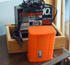 Enter Dynamics Road Side Air Compressor, Jumper Cables And Schauer 10 Amp Solid State Electric Battery Charger Includes Wooden Box