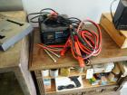 Die Hard Fully Automatic Battery Charger And Like New Jumper Cables