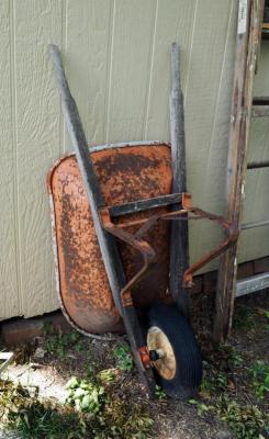 Metal Single Wheel Wheel Barrow