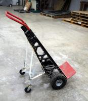 Milwaukee 2 Wheel Dolly With Custom Spring Loaded Support/Assist