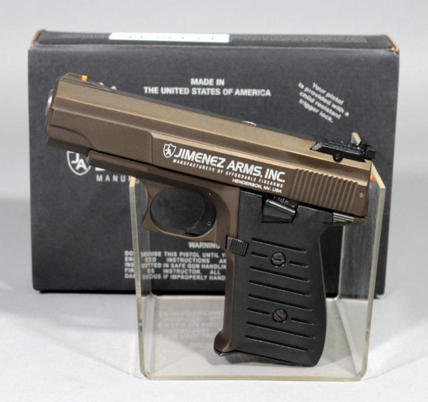 Jimenez Arms JA Nine 9mm Pistol SN# 443870, With Paperwork