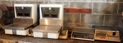 Vintage Hobart Electric Scales, Model 1000, Qty 2, And More