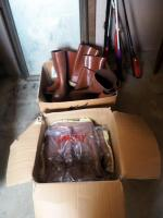 New And Used Tingley Steel Toed Rubber Boots, Qty 7, Medium
