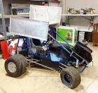 Sprint Car, High Power Short Dirt Oval Race Vehicle, Frame, Tires, Wings, Parts, Project Car