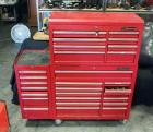 "US General Pro Tool Cabinet, 28 Drawers, 61"" Tall x 59"" Wide x 18"" Deep, On Wheels, With Key"