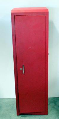 "US General Pro Tool Locker, With Two Interior Lower Drawers and Adjustable Shelf, 55"" Tall x 16.5"" Wide x 18"" Deep, Can Attach to Lot #16"