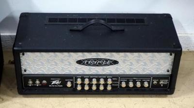 Peavey Triple X Tube Amplifier Head, No Cord, Powers On