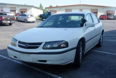 2003 Chevrolet Impala Passenger Car, 96,655 Miles, VIN # 2G1WF55K239303798, SEE VIDEO