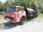 1968 Ford F-7500 Oiler Truck, VIN# C70DUC99550, Driver Side Not Opening, Not Running, Inoperative