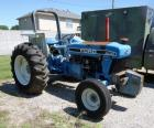 1993 Ford 9360 Tractor, VIN# BD49786, Steering Leak, Needs Tires, Starts