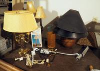 Lighting Assortment Including Table Lamps, Bed Lamp, Desk Lamps And More, 8 Total Pieces