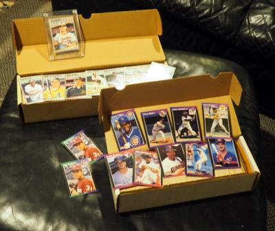 1989 Donruss Diamond Kings And 89 Fleer Baseball Card Sets, Qty 2 Full Boxes