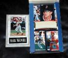 Score 1994 Major League Baseball Player Cards, Contents Of 1 Box, And Mark McGwire Photograph Plaque