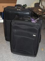 Ralph Lauren Rolling Suitcase (New With Tags) And Sigg Rolling Suitcase