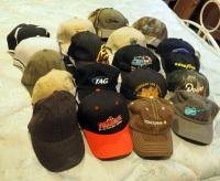 Ball Cap Assortment, Qty 18, Most New With Tags