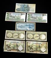1000 Mille Riels, 100 Cent Riels, 500 Cents Riels, Issued By National Bank Of Cambodia Total Qty.8
