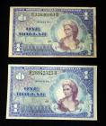 1 Dollar, US Military Payment Certificates, Series 661, Qty. 2