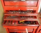 Hand tools Including Metric And Standaard Wrenches, Snap Ring Pliers, Tin Snips, And More Contents Of  3 Drawers