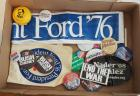 Presidential Campaign Memorabilia Including Buttons, Banners, Stickers, And More