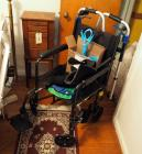 "Wheel Chair, Seat 19"", Width 29"" And Drive Adjustable Walker"