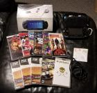 PlayStation Portable Gaming Station Including  Games, Qty 10, SD Card, Charger, Earbuds And Carrying Case, Original Box And Adapters