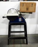 "Rikon, 6"" x 48"" Belt/ 10"" Disk Sander Model 50-122 On Stand, Powers On, Includes Extra Sanding Belts"