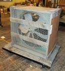"Belt Driven Exhaust Fan,  37"" X 37"" X 22"", Bidder Responsible For Proper Removal,  Cart Not Included (4-A)"