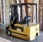 Yale Electric Forklift, Model #ERP040TDN36SE077, 4344.2 Hours Includes 7.5 Ft Carpet Pole, Forks And Hertner Auto 1000 Charger, Second Day Load Out Only, Bidder Responsible For Proper Removal
